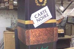 Брендовый макет кофе Картнуар, пример