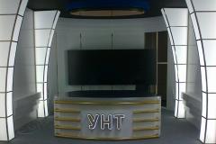 Пример интерьерного оформления студии УНТ