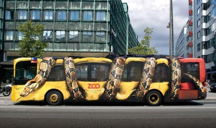 необычное брендирование транспорта, фото