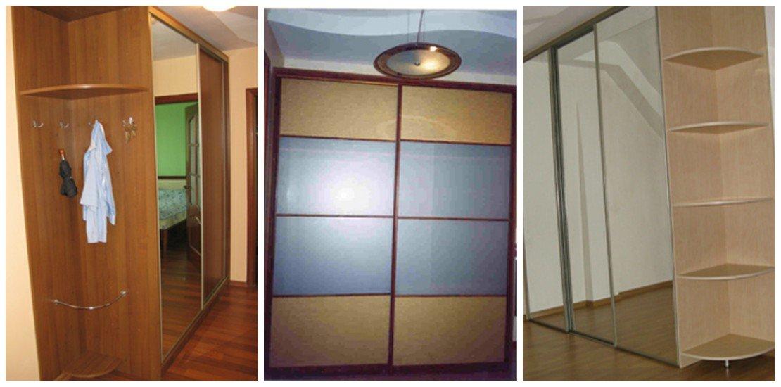 Корпусные шкафы-купе с раздвижными дверьми