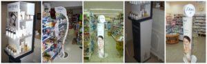 Магазинные торговые стойки фото