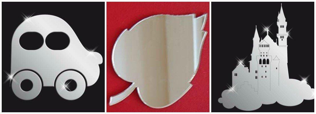 Акриловые зеркала в детскую комнату