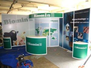 Выставочный стенд Biomin, фото