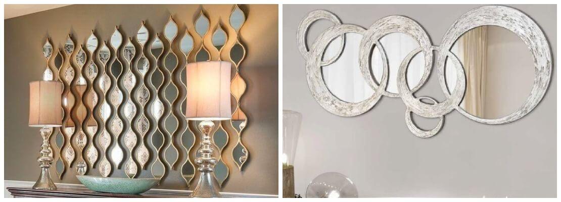 Акриловые зеркала в декоре интерьера