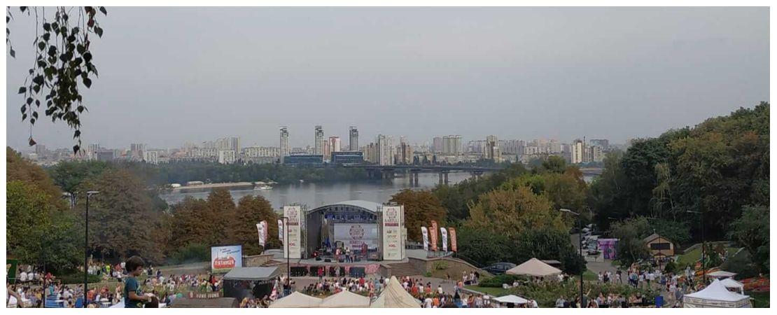 Фестиваль на Певчем поле в Киеве