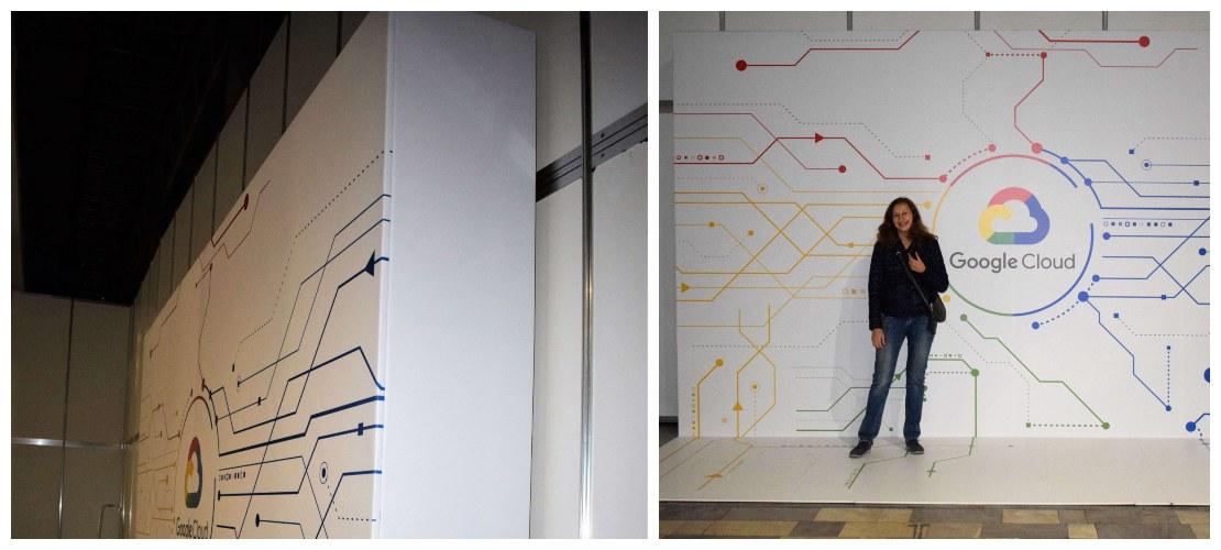 Brand Wall - конструкция баннерной растяжки
