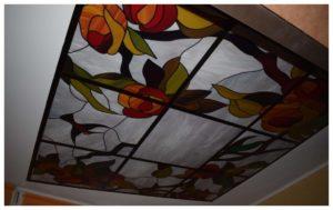 Потолок из оргстекла