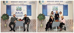 Реализованный проект фотозоны Греческая таверна